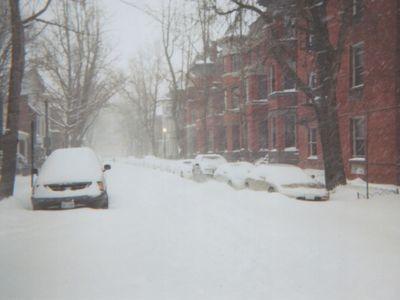 大雪の米国首都01