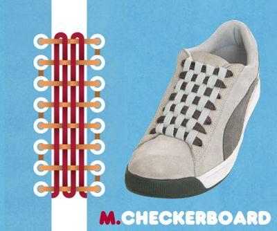 靴ひも・結び方13