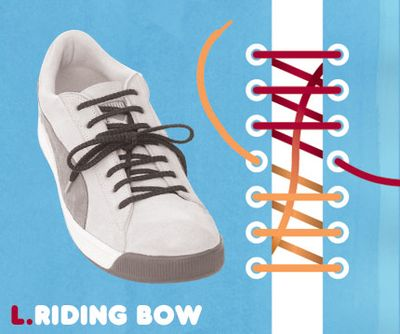 靴ひも・結び方12