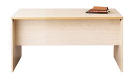 ファントーニデスクGL パネル脚GL-168D 白木