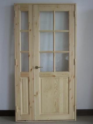 パイン親子ドア