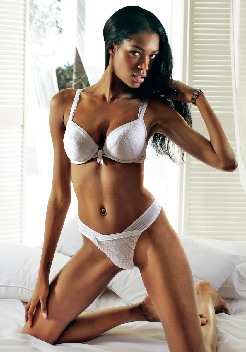 Sexy Skinny Ebony 18