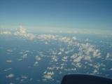 飛行機の空