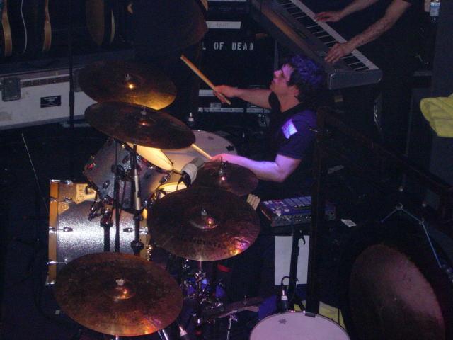 ジェイソン、ドラム
