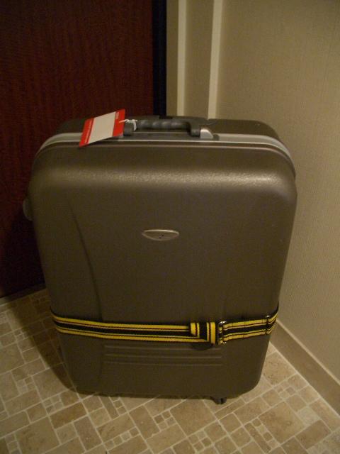 荷造り完了は深夜2時。
