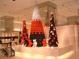 テディーベアのクリスマスツリー