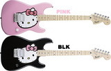 kitty pink black