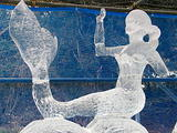 六甲山氷の祭典1