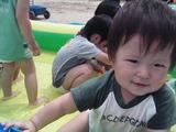 保育園のプール