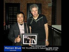 画像:Yellow Jackets & Mike Stern ライブレポート2009年3月21日モーションブルー横浜にて