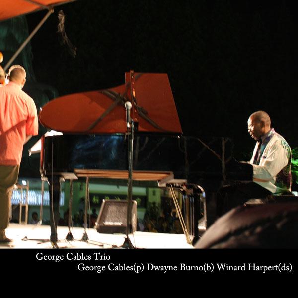George Cables trio2009年08月22日(土) 青森・青龍寺ジャズフェスティバル2009