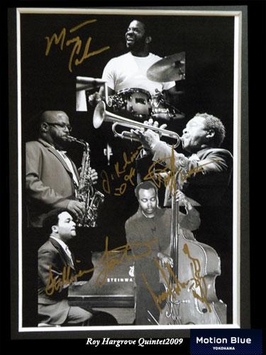 画像:Roy Hargrove Quintet200909年6月20日(土)モーションブルー横浜にて観戦!