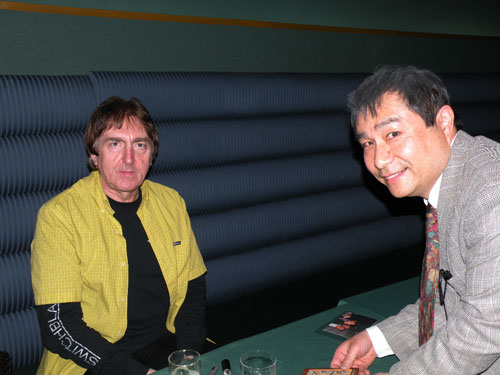 画像:Allan Holdsworth Trio Japan Tour 2009−mirukoの時間