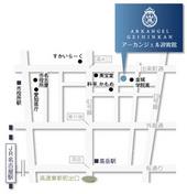 アーカンジェル迎賓館名古屋map