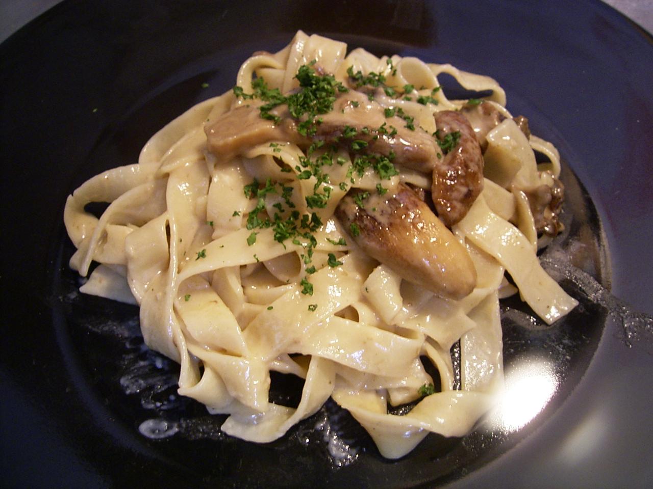「パスタマニア」に贈る。ポルチーニ茸のパスタの作り方