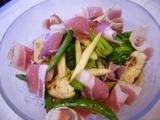 焼野菜と燻製