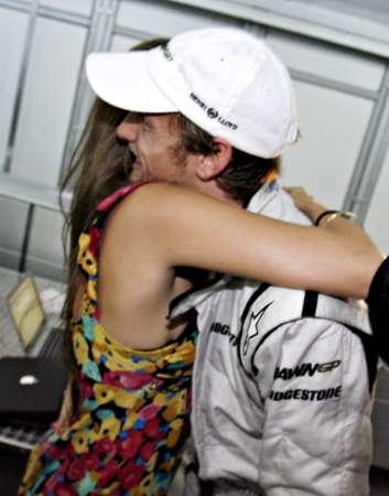 道端ジェシカ、バトン、2009年F1マレーシアGP