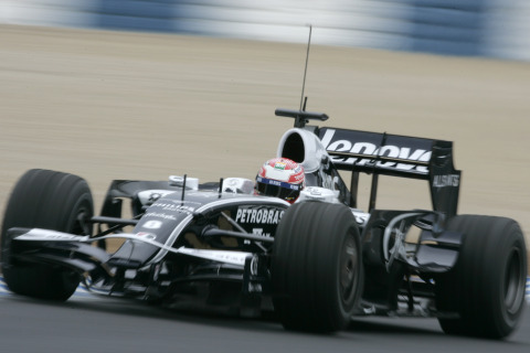 ウィリアムズ(中嶋一貴)、2009年F1エアロ(リア・ウィング、フロント・ウィング)テスト
