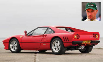 エディ・アーバイン - フェラーリ288 GTO