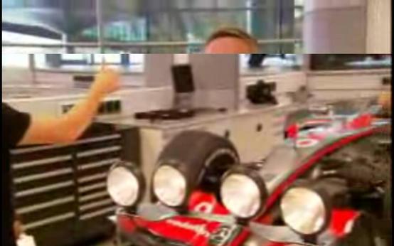 マクラーレン、ナイトレース用に新技術を公開