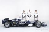 ニコ・ロズベルグ、中嶋一貴、ニコ・ヒュルケンベルグ、ウィリアムズ FW30