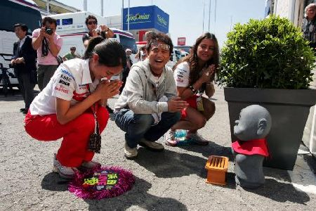 F1恋人奥様家族写真...etc.:スペインGP