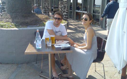 道端ジェシカ、バトン、2009年F1オーストラリアGP