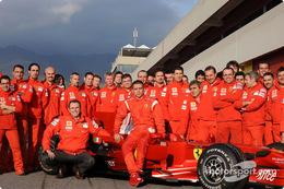 ヴァレンティーノ・ロッシ、ステファノ・ドメニカリ、フェラーリ・テスト