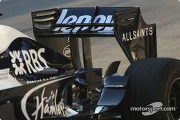 ウィリアムズ(中嶋一貴)、2009年F1エアロ(リア・ウィング)テスト