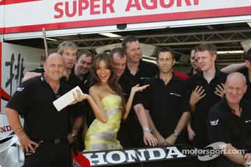 道端ジェシカ、スーパーアグリ、2006年F1モナコGP