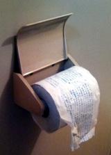 トイレにドロップ