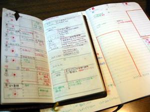手帳の過去と現在