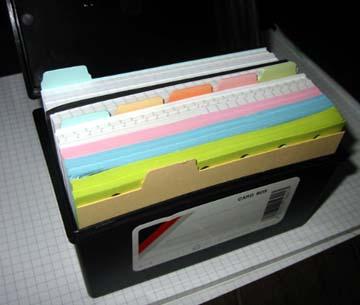 情報カードケース
