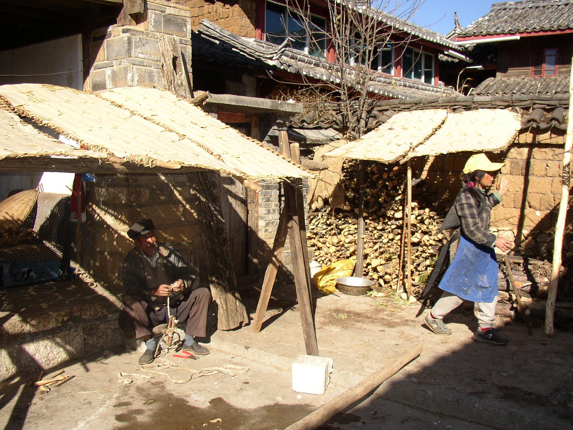 ナシ族の村 個人宅2
