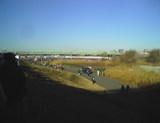 谷川真理ハーフ大会前の風景