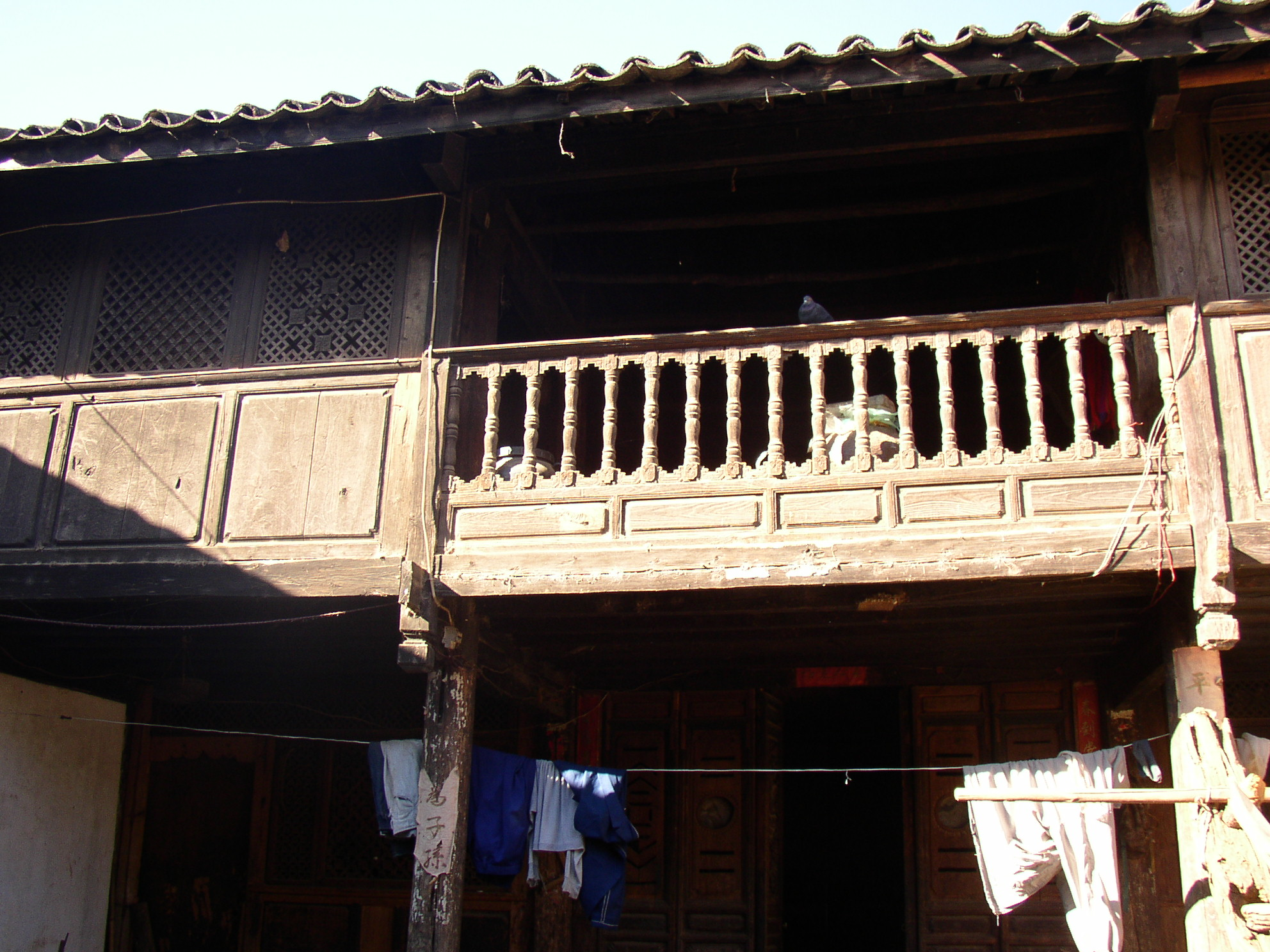 ナシ族の村 個人宅
