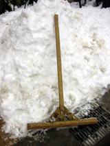 雪かきトンボ
