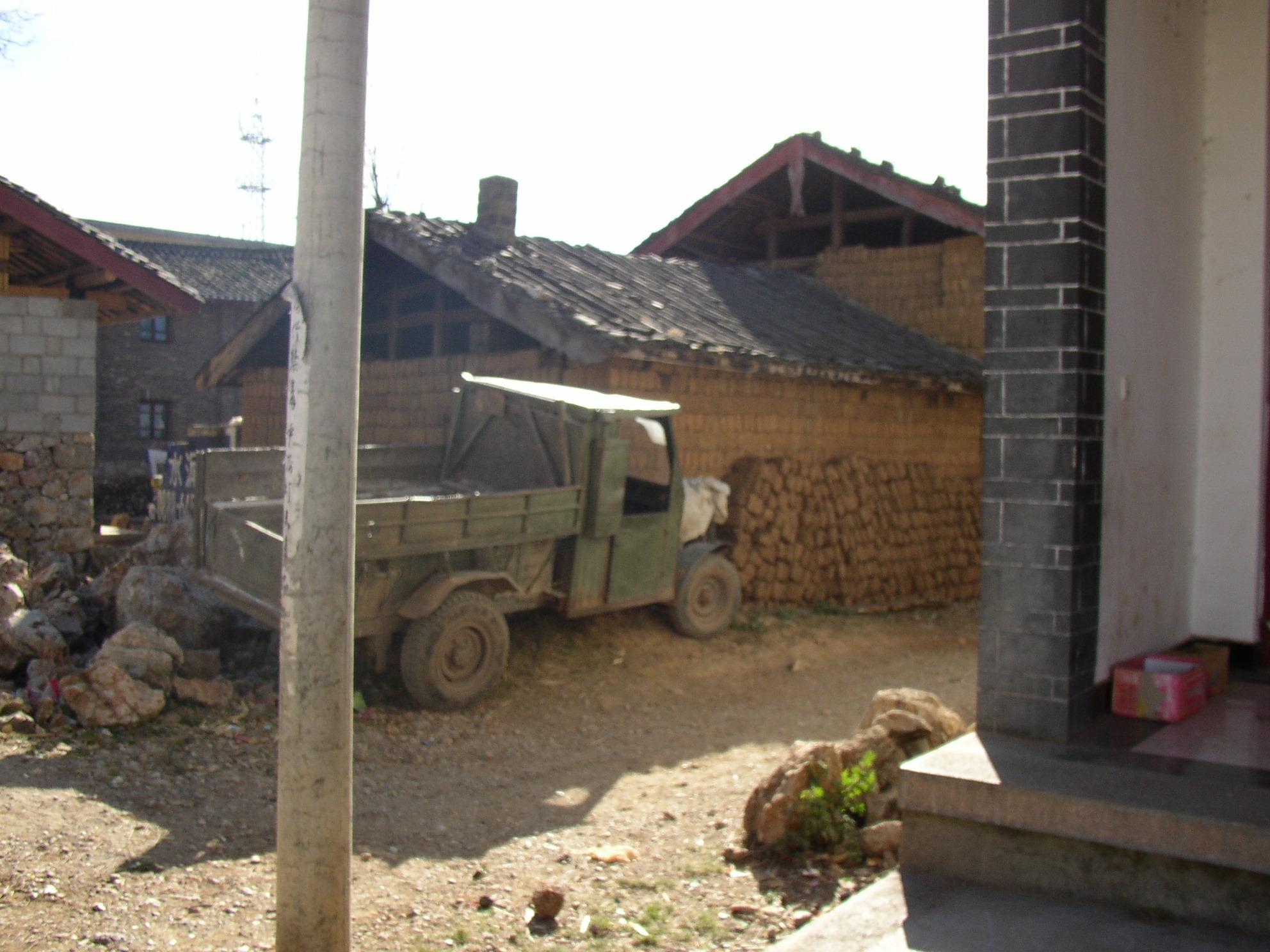 ナシ族の村トラック