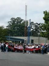 TLC反対デモ