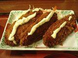 白身魚フライ定食・2