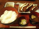 白身魚フライ定食・1