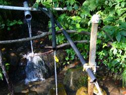 山の水3本