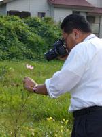 花とおちゃめな先生