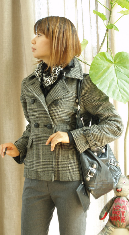 キャサリンコラボジャケットコート