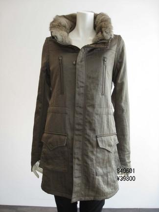コート 袖が取れるコート
