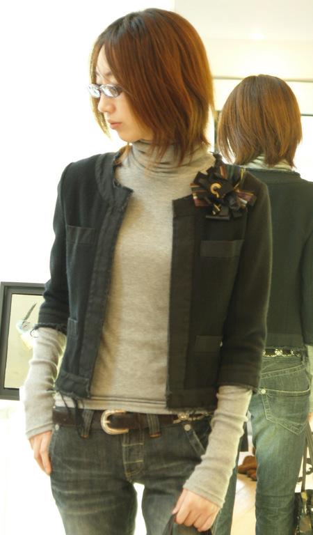 5のシャネルなジャケット\24800の消費税 ¥26040