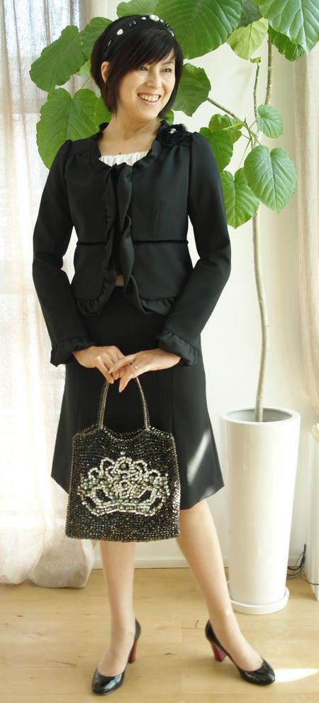 黒フーフォレ スーツ