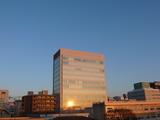 朝陽 ビルに反射.jpg