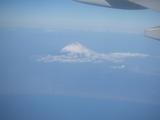 飛行機から見えた富士山.JPG
