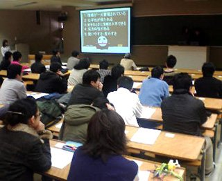 卒業研究発表会の写真